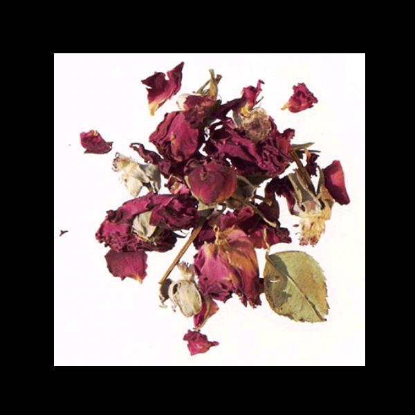Rosenblomstblade foder